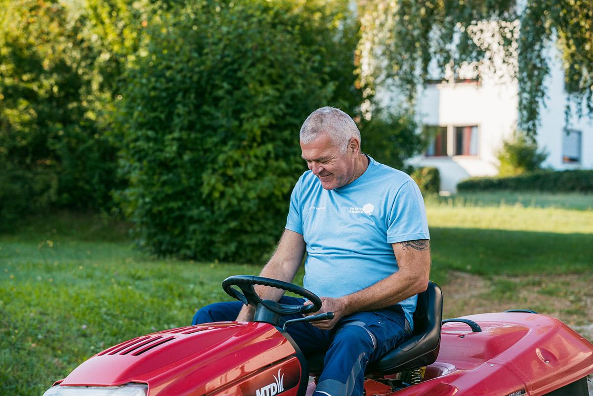 Thomas von Rotz steht für professionelle Reinigung und Hauswartung seit 2007