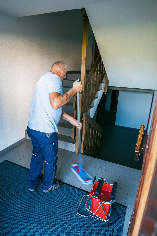 Reinigung von Treppenhäusern und Hausfluren in Zürich, Luzern, St. Gallen, Thurgau