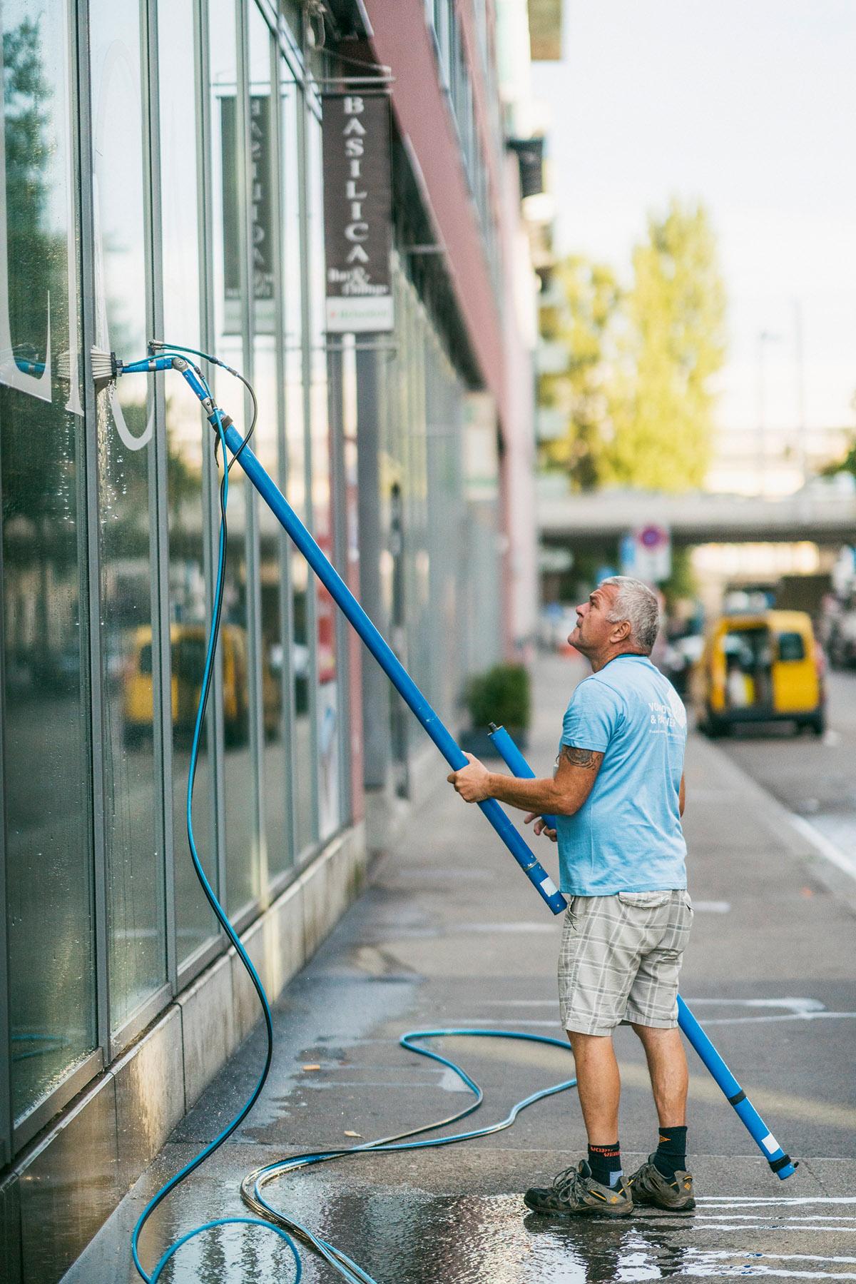 Fensterreinigung für Restaurants in Zürich, Luzern, St. Gallen, Thurgau